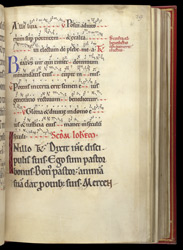 Mass for the Ordination of a Bishop, in a Pontifical from St Mungo's f.31r